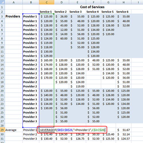 Pricing Model Excel