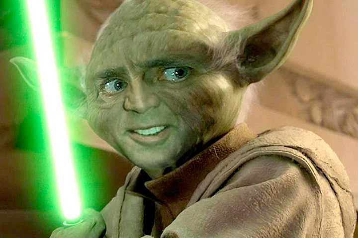 Nicolas Cage as Yoda