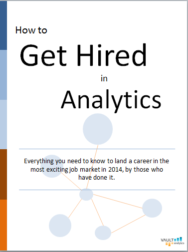 How to Get a Job in Analytics